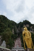 Entrance to Batu Caves. Consider paying for a tour of the Dark Cave.