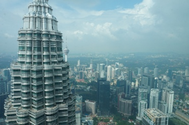 View of KL from Petronas Towers