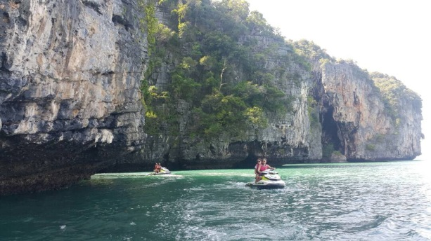 Splurge and tour the islands on a jet ski tour!