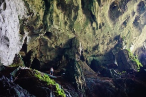 The Fairy Cave. Beautiful. Small. Can be explored on your own, but you will need transportation from Kuching.