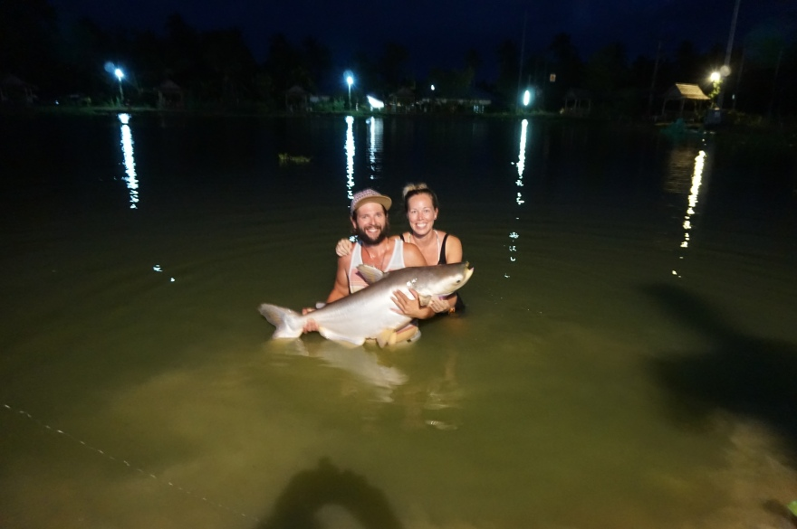 Tash, Yogi and the Giant Mekong Catfish